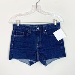 Gap | hi rise slim cut off denim shorts size 24